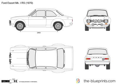 Ford Escort Mk. I RS
