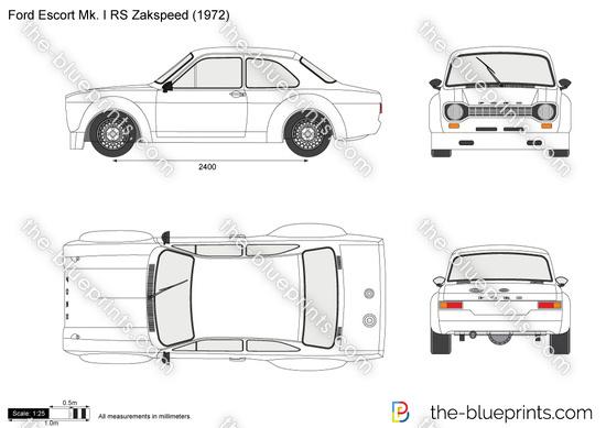 Ford Escort Mk. I RS Zakspeed