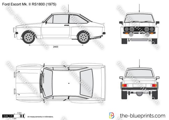 Ford Escort Mk. II RS1800