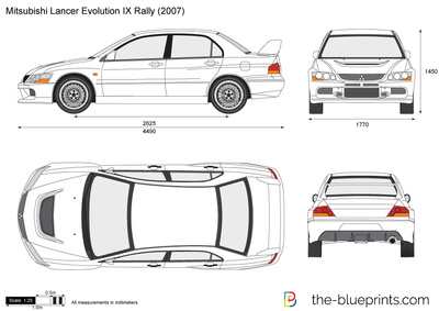 Mitsubishi Lancer Evolution IX Rally