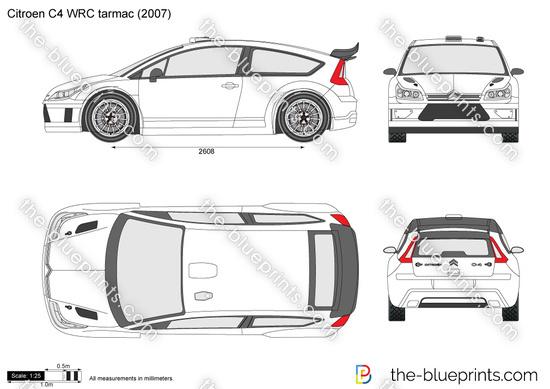 Citroen C4 WRC tarmac