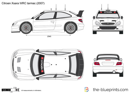 Citroen Xsara WRC tarmac