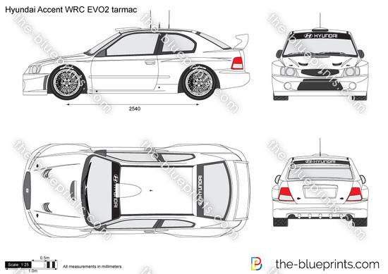 Hyundai Accent WRC EVO2 tarmac