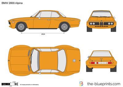 BMW 2800 Alpina (1969)