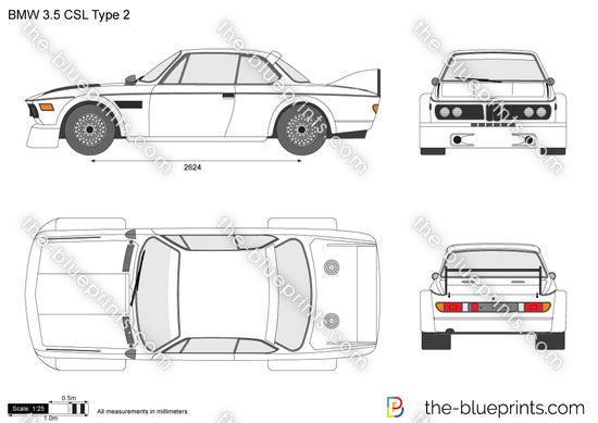 BMW 3.5 CSL Type 2