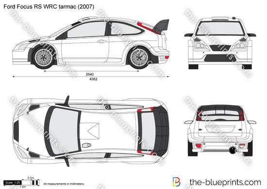 Ford Focus RS WRC tarmac