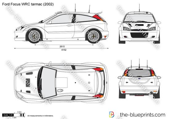 Ford Focus WRC tarmac