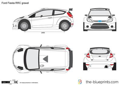 Ford Fiesta RRC gravel
