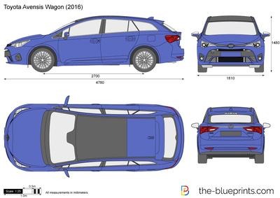 Toyota Avensis Wagon (2016)