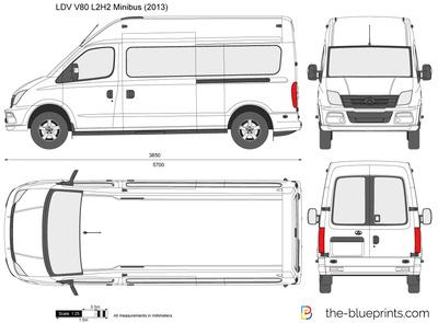 LDV V80 L2H2 Minibus