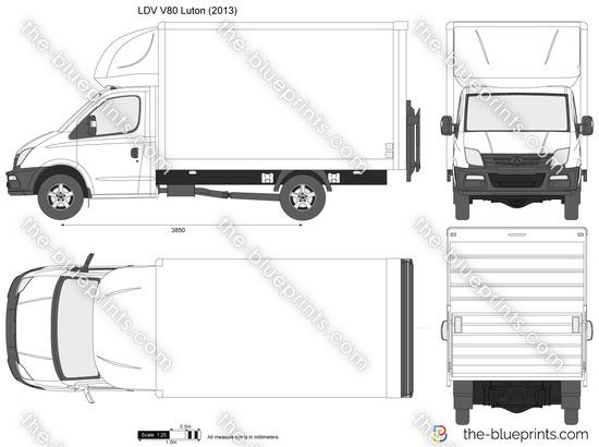 LDV V80 Luton