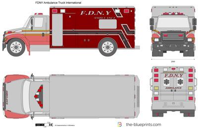 FDNY Ambulance Truck International