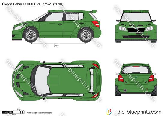 Skoda Fabia S2000 EVO gravel