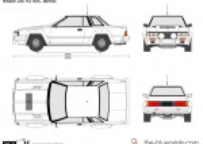 Nissan 240 RS BBC tarmac