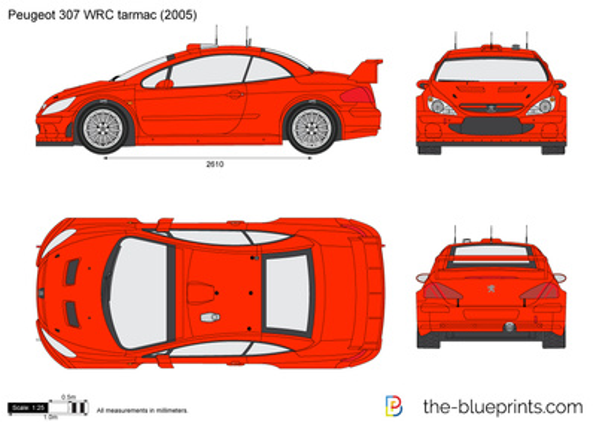 Peugeot 307 WRC tarmac