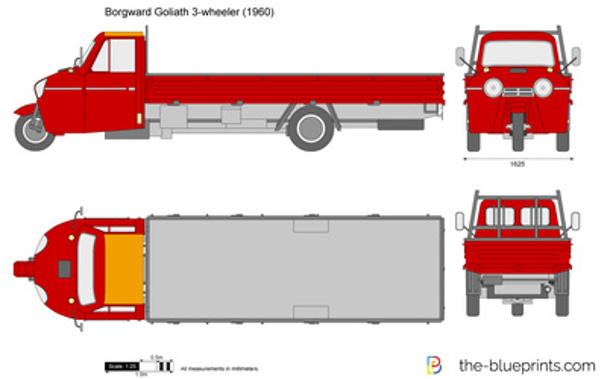 Borgward Goliath 3-wheeler