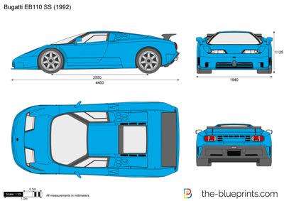 Bugatti EB110 SS (1992)