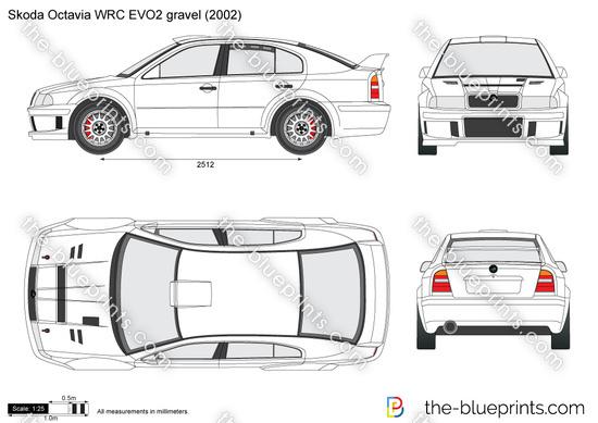 Skoda Octavia WRC EVO2 gravel