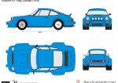 Porsche 911 Rally Ducktail