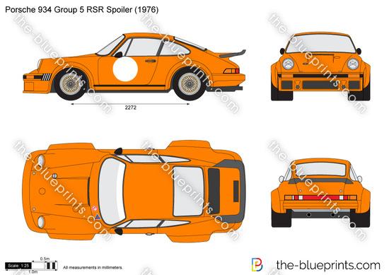 Porsche 934 Group 5 RSR Spoiler