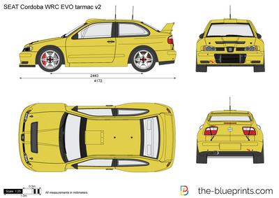 SEAT Cordoba WRC EVO tarmac v2