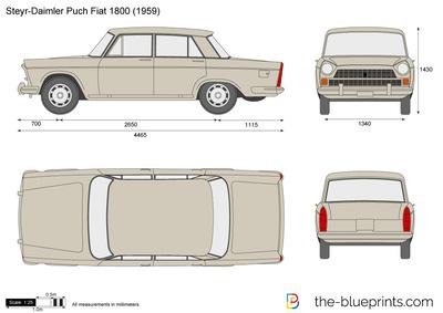 Steyr-Daimler Puch Fiat 1800 (1959)