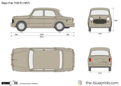 Steyr-Fiat 1100 R