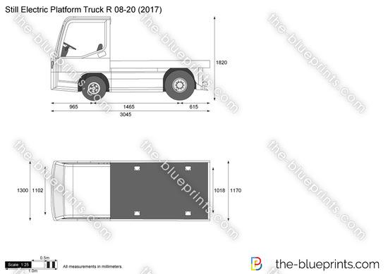 Still Electric Platform Truck R 08-20