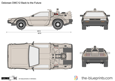 Delorean DMC12 Back to the Future