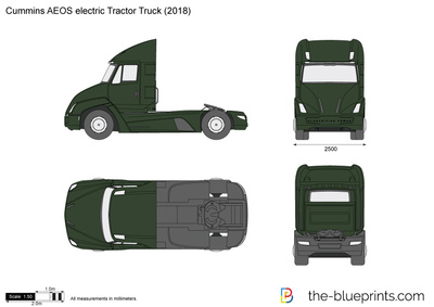 Cummins AEOS electric Tractor Truck