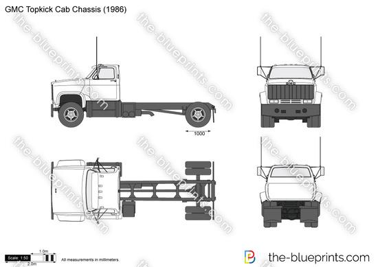 GMC Topkick Cab Chassis