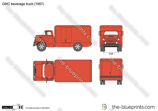 GMC beverage truck