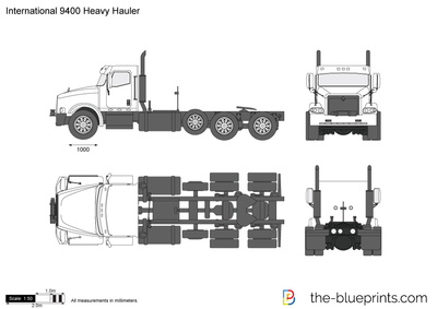 International 9400 Heavy Hauler