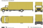 International Box Truck NCDOT
