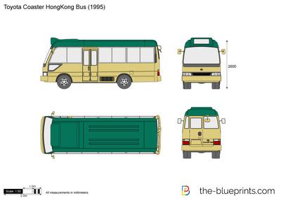 Toyota Coaster HongKong Bus (1995)