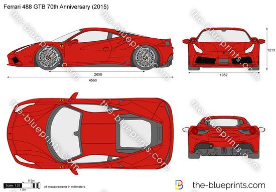 Ferrari 488 GTB 70th Anniversary