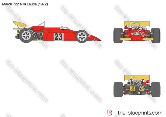 March 722 Niki Lauda