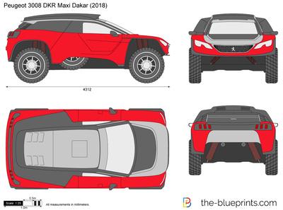 Peugeot 3008 DKR Maxi Dakar (2018)