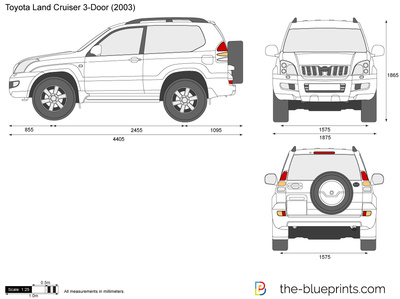 Toyota Land Cruiser 3-Door