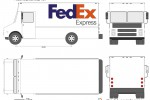 FedEx Express Step Van