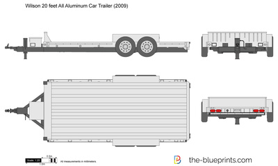 Wilson 20 feet All Aluminum Car Trailer