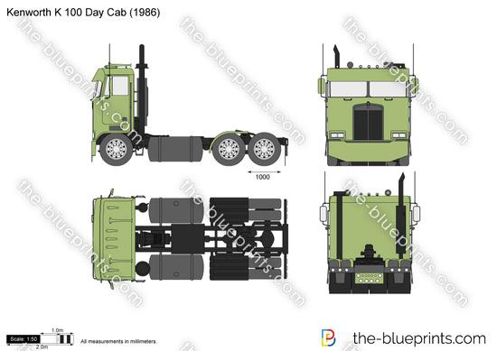 Kenworth K 100 Day Cab