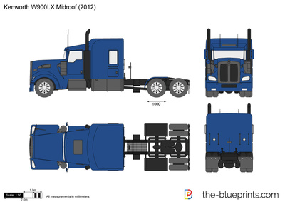 Kenworth W900LX Midroof