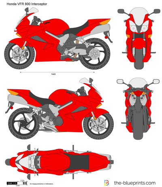 Honda VFR 800 Interceptor