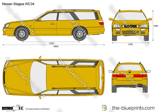 Nissan Stagea WC34