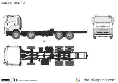 Isuzu FYH long PTO