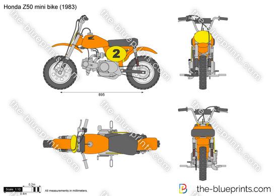 Honda Z50 mini bike