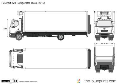 Peterbilt 220 Refrigerator Truck (2010)
