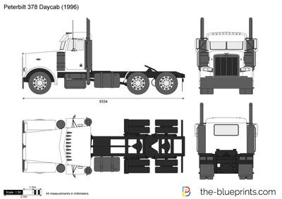 Peterbilt 378 Daycab (1996)