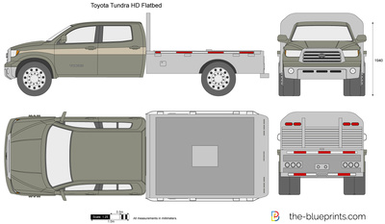 Toyota Tundra HD Flatbed